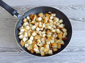 Салат с говядиной и сухариками - фото шаг 5