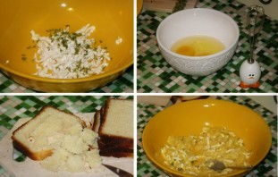 Бутерброды на сковороде - фото шаг 2