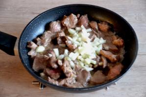 Гречка с телятиной в духовке - фото шаг 3
