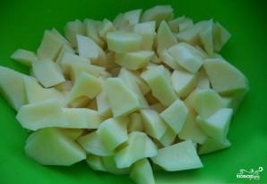 Зеленый борщ без мяса - фото шаг 2