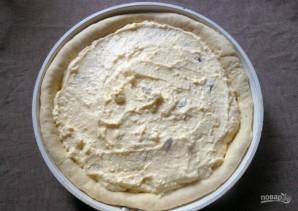 Открытый пирог из дрожжевого теста - фото шаг 10