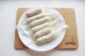 Куриные колбаски - фото шаг 10