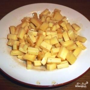 Салат с омлетом - фото шаг 3