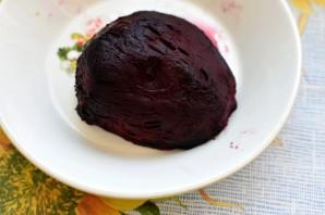 Теплый салат со свеклой и запеченной тыквой. - фото шаг 1