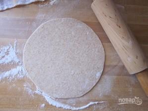 Тортилья из пшеничной муки - фото шаг 6