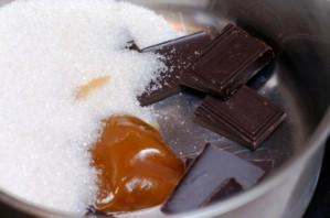 Шоколадное печенье с лесными орехами - фото шаг 2