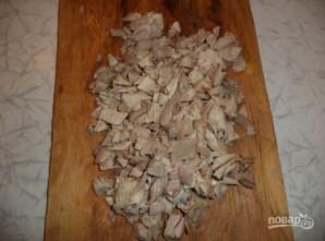 """Салат """"Праздничный"""" с курицей и грибами - фото шаг 3"""