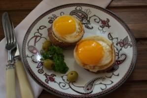 Бифштекс с яйцом - фото шаг 7