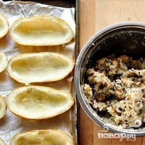 Запеченный картофель с беконом и сыром - фото шаг 2