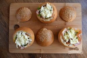 Горячие булочки с яйцом и сыром - фото шаг 5