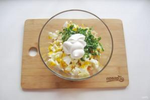 Салат с лапшой и колбасой - фото шаг 8