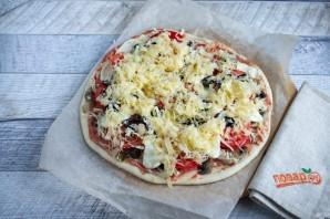Лучший рецепт домашней пиццы - фото шаг 8