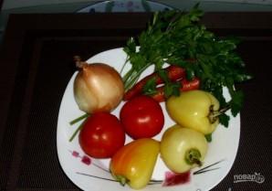 Красный окунь в духовке - фото шаг 3