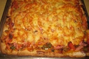 Пицца в духовке (тесто на майонезе) - фото шаг 11