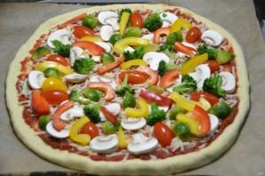 "Пицца ""Примавера"" - фото шаг 17"