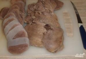 Язык говяжий под соусом - фото шаг 2