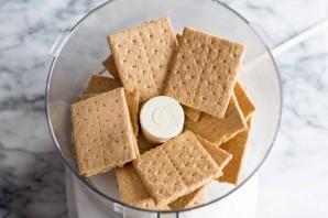 Песочное печенье с шоколадом и маршмеллоу - фото шаг 1