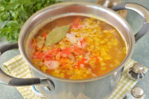 Суп с нутом и брокколи - фото шаг 7