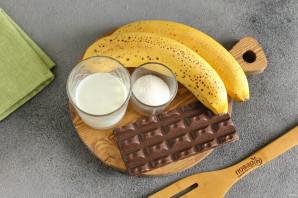 Шоколадно-банановая паста