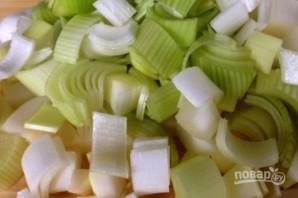 Картофельный суп с луком - фото шаг 1