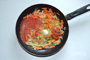 Толстолобик в томатном соусе - фото шаг 5