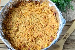 """Пирог из спагетти """"Болоньезе"""" - фото шаг 7"""