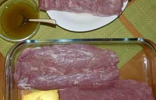 Мясной рулет из свинины с беконом - фото шаг 1