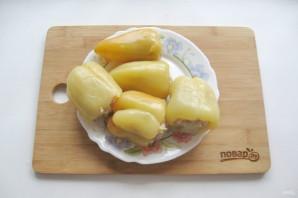 Перец фаршированный мясом и кабачками - фото шаг 7
