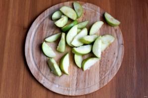 Салат с куриной печенью и яблоком - фото шаг 2