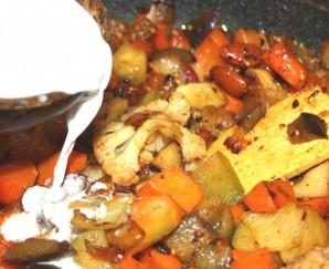 Вегетарианское карри - фото шаг 6