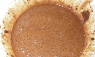 Шоколадный пирог с творожно-кокосовыми шариками - фото шаг 3