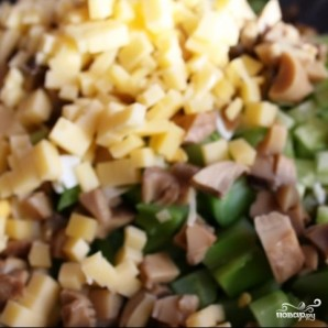 Сытный новогодний салат - фото шаг 21