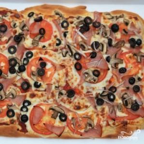 """Пицца """"Калифорния"""" - фото шаг 9"""
