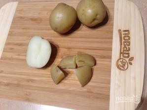 Теплый картофельный салат с авокадо - фото шаг 1