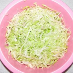 Салат из свежей зелени - фото шаг 1