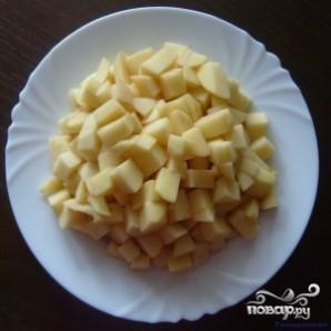 Тефтели с картошкой в мультиварке - фото шаг 2