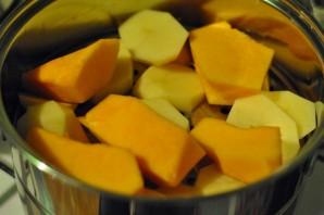Вегетарианский тыквенный суп-пюре - фото шаг 1