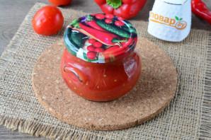 Томатный соус без уксуса на зиму