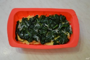 Картофельная запеканка со шпинатом - фото шаг 11