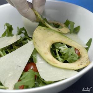 """Салат с креветками """"Вкусный"""" - фото шаг 8"""