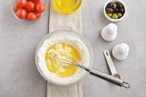Греческий пирог с козьим сыром - фото шаг 4