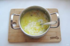 Грибной суп с молоком - фото шаг 8