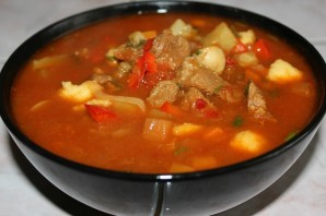Суп-гуляш из говядины - фото шаг 26