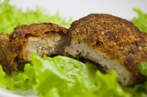Мясо в панировке - фото шаг 6