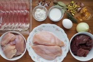 Террин из курицы с фисташками - фото шаг 1