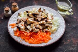 Овощная солянка с грибами - фото шаг 3