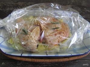 Курица в духовке с картошкой в пакете для запекания  - фото шаг 6