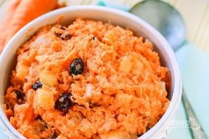 Морковный салат с изюмом - фото шаг 3