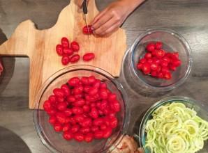 Морепродукты в томатном соусе - фото шаг 3