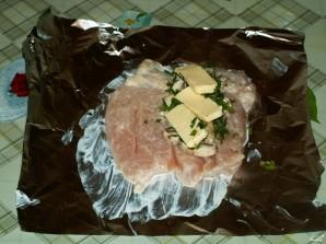 Куриная грудка с грибами и сыром - фото шаг 8